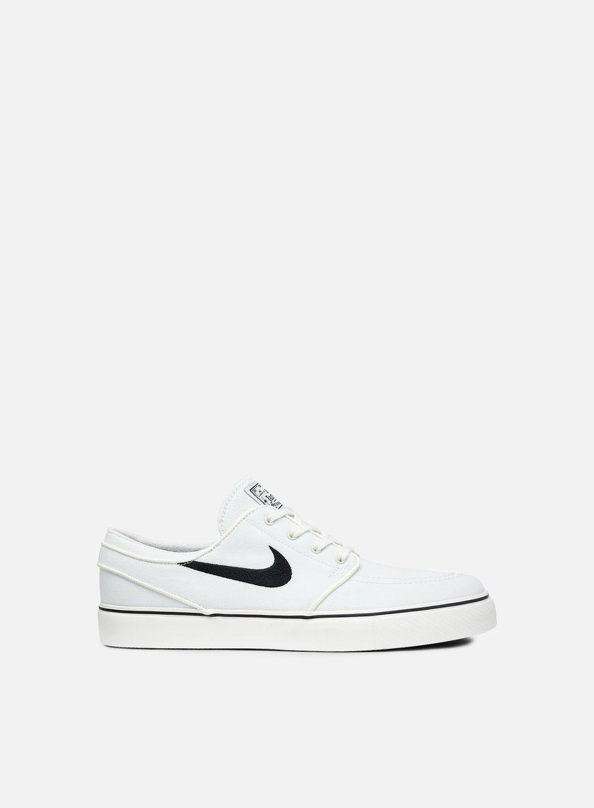 Nike SB Zoom Stefan Janoski Canvas Men's Lifestyle Shoes White/Black xP5164Y