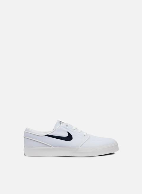 sneakers nike sb zoom stefan janoski canvas white obsidian