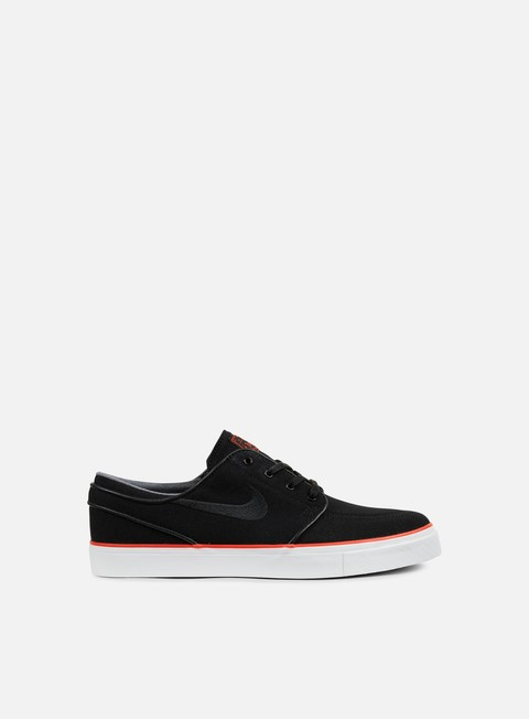 sneakers nike sb zoom stefan janoski cnvs black black max orange