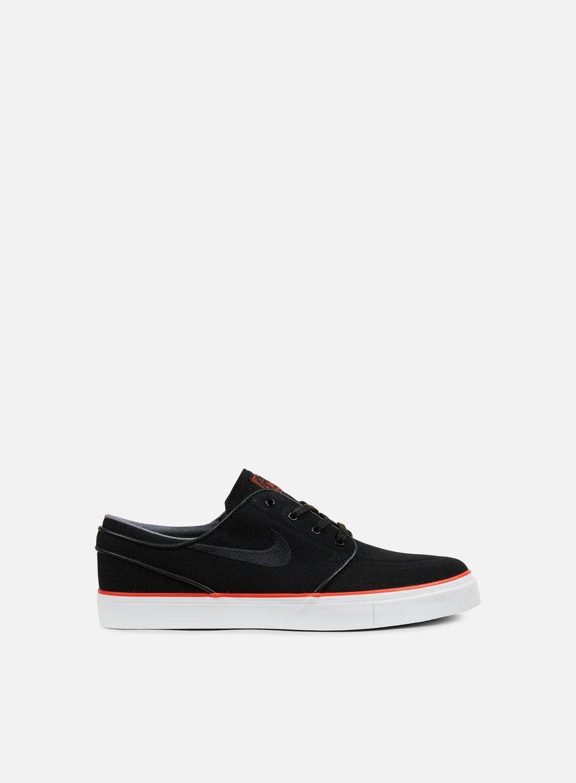 Nike SB - Zoom Stefan Janoski CNVS, Black/Black/Max Orange