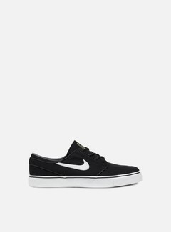 Nike SB - Zoom Stefan Janoski CNVS, Black/White/Gum Light Brown 1