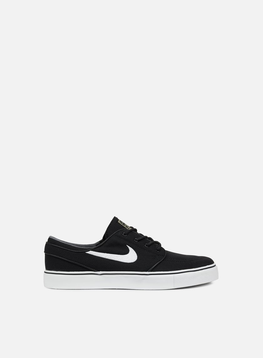 Nike SB - Zoom Stefan Janoski CNVS, Black/White/Gum Light Brown