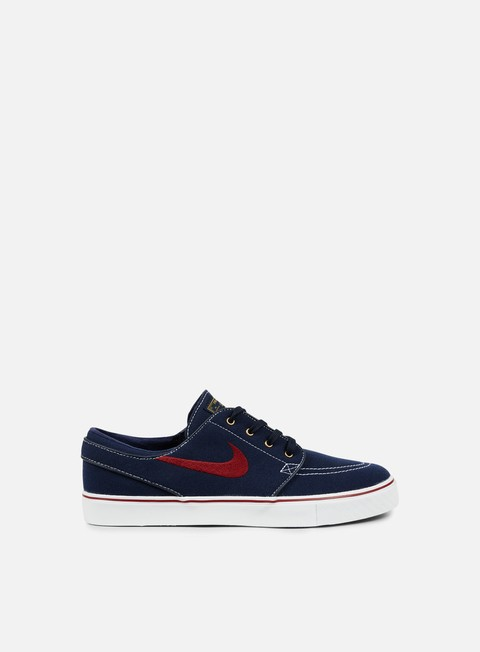 sneakers nike sb zoom stefan janoski cnvs obsidian team red white