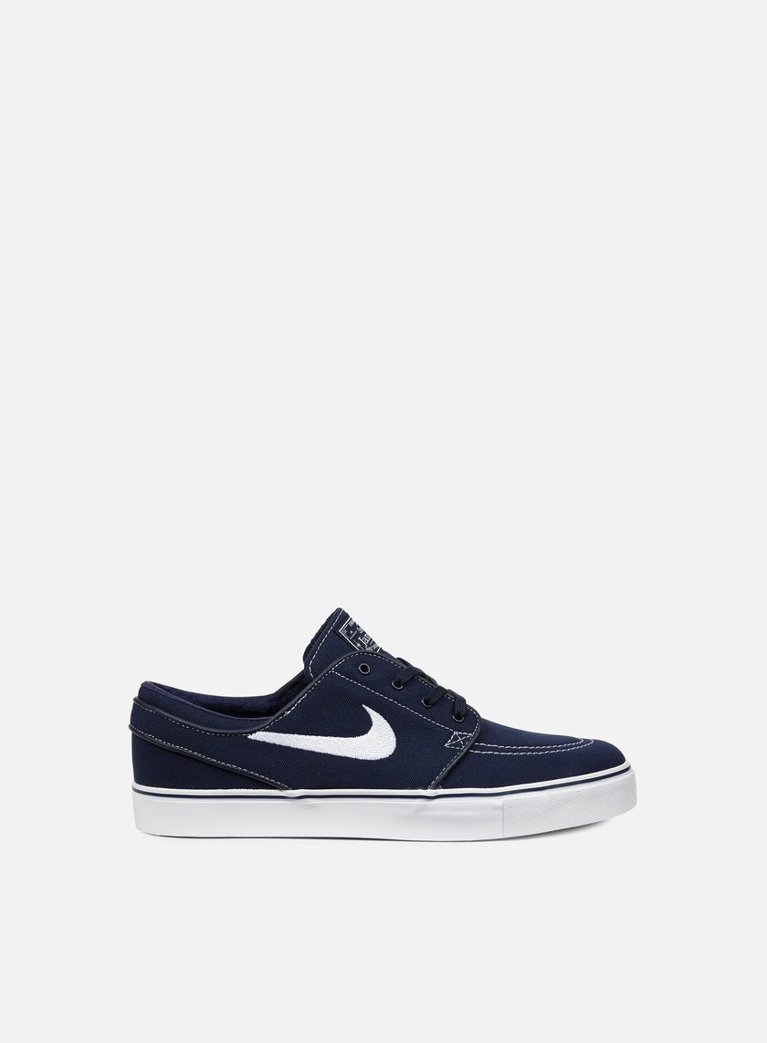 Nike SB - Zoom Stefan Janoski CNVS, Obsidian/White/Gum Light Brown