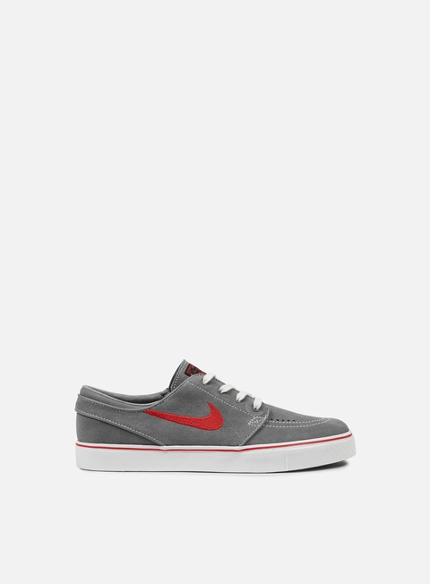 sneakers nike sb zoom stefan janoski cool grey black university red