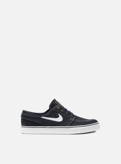 Nike SB - Zoom Stefan Janoski, Dark Obsidian/White/Gum Light Brown 1