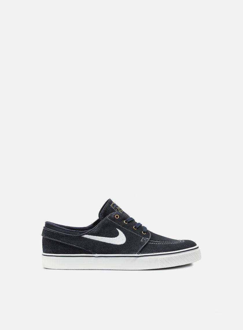 Nike SB - Zoom Stefan Janoski, Dark Obsidian/White/Gum Light Brown
