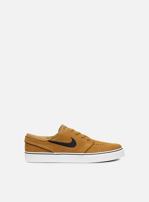 sneakers nike sb zoom stefan janoski golden beige black
