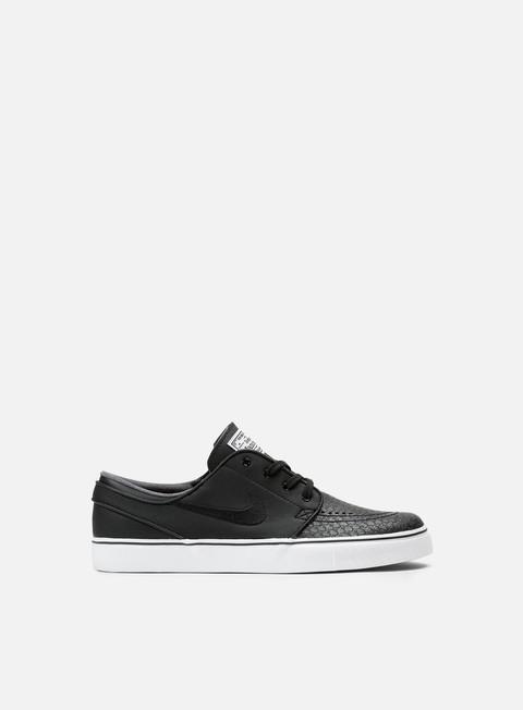 sneakers nike sb zoom stefan janoski l black black white