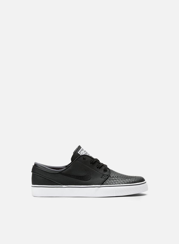 Nike SB - Zoom Stefan Janoski L, Black/Black/White