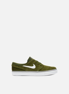 Nike SB - Zoom Stefan Janoski, Legion Green/White/Black 1
