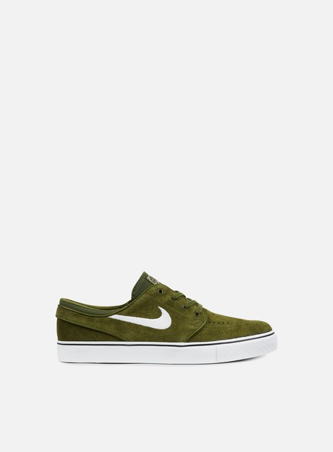 sneakers nike sb zoom stefan janoski legion green white black
