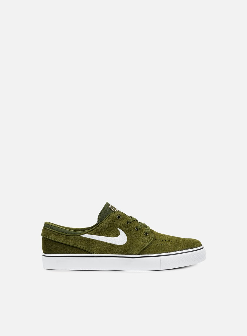 Nike SB - Zoom Stefan Janoski, Legion Green/White/Black