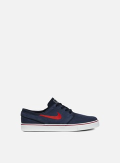 Nike SB - Zoom Stefan Janoski, Obsidian/University Red/Noble Red 1