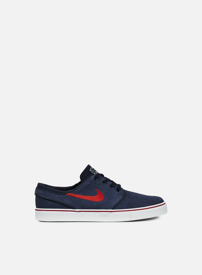 Nike SB - Zoom Stefan Janoski, Obsidian/University Red/Noble Red