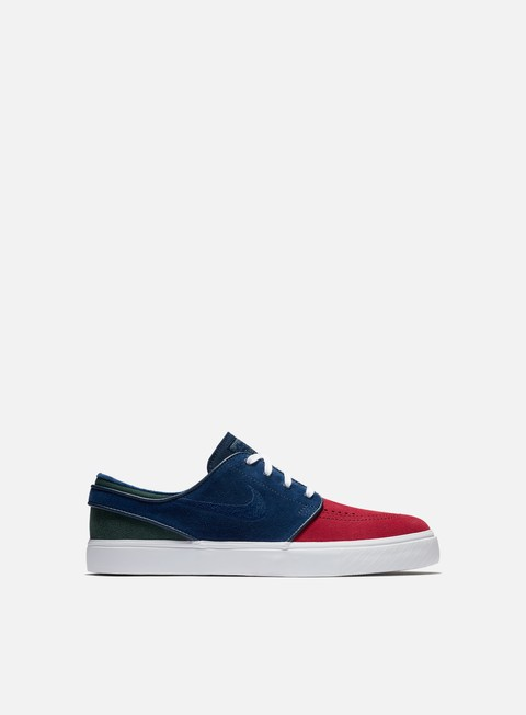 sneakers nike sb zoom stefan janoski red crush blue void white midnight green