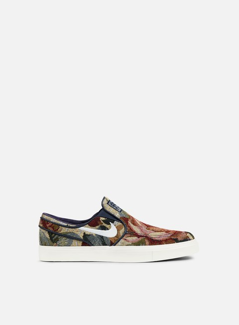 sneakers nike sb zoom stefan janoski slip cnvs multicolor white ivory