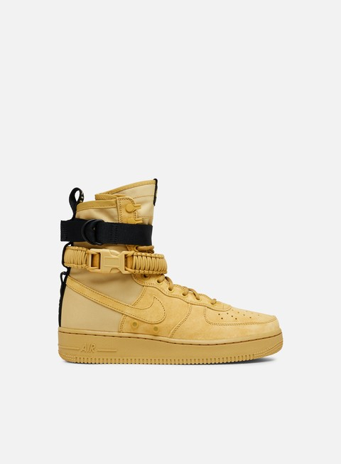 sneakers nike sf air force 1 club gold club gold club gold
