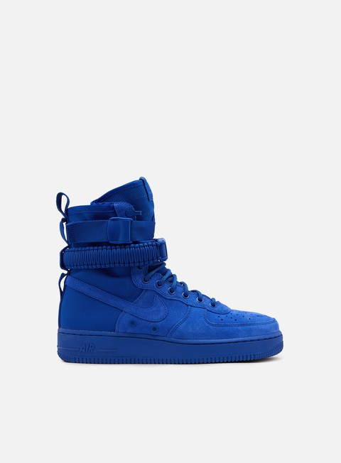 sneakers nike sf air force 1 game royal game royal