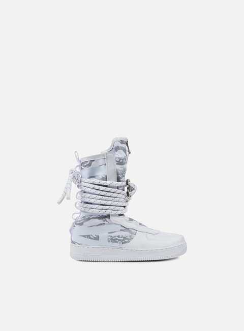 sneakers nike sf air force 1 hi prm white white white