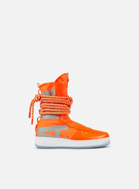 sneakers nike sf air force 1 hi total orange total orange