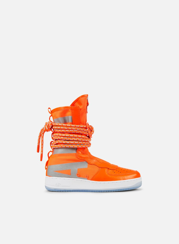 Nike - SF Air Force 1 Hi, Total Orange/Total Orange