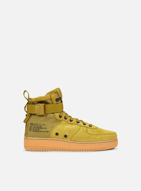 sneakers nike sf air force 1 mid desert moss desert moss