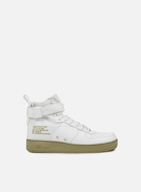 sneakers nike sf air force 1 mid ivory ivory neutral olive