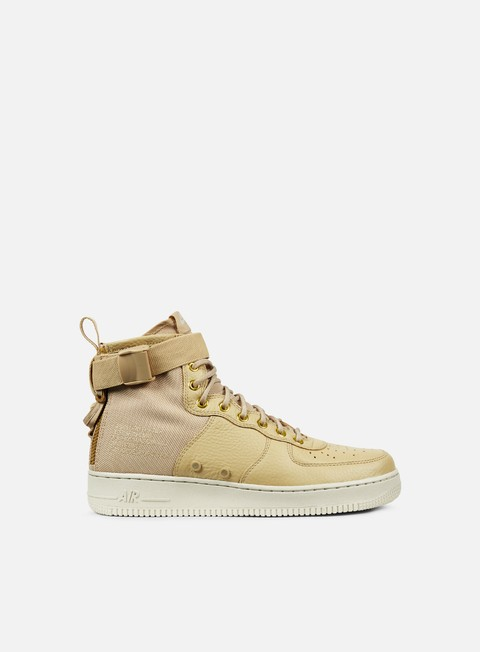 sneakers nike sf air force 1 mid mushroom mushroom light bone