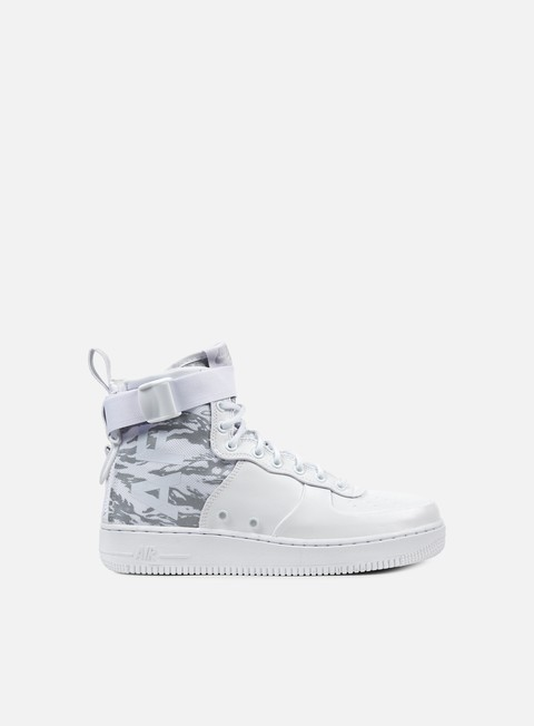sneakers nike sf air force 1 mid prm white white white