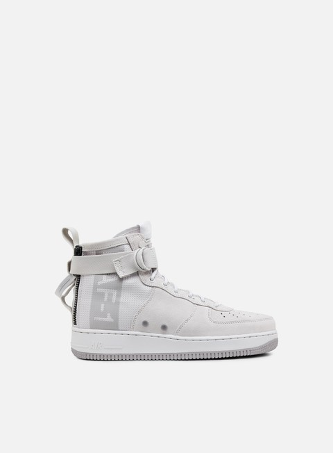 sneakers nike sf air force 1 mid suede vast grey atmosphere grey