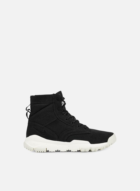 sneakers nike sfb 6 canvas nsw black black sail