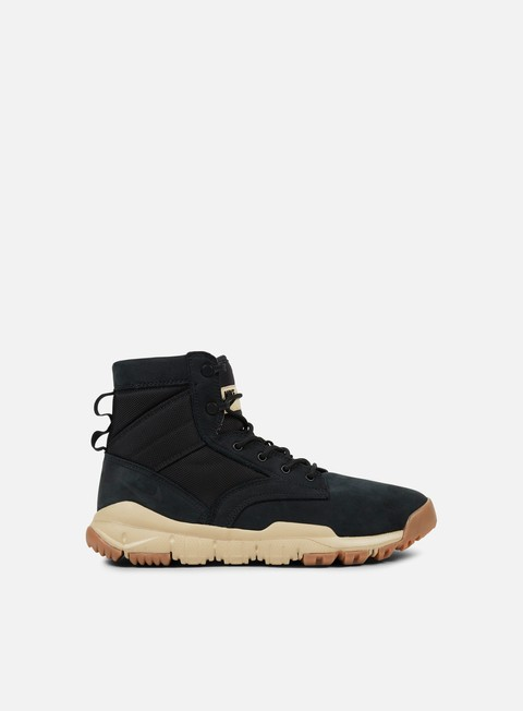 sneakers nike sfb 6 leather nsw black black mushroom