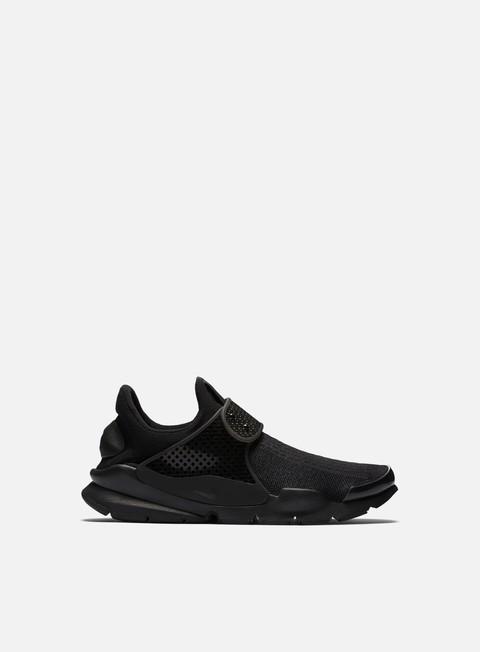 sneakers nike sock dart black black volt