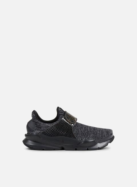 sneakers nike sock dart br black black black