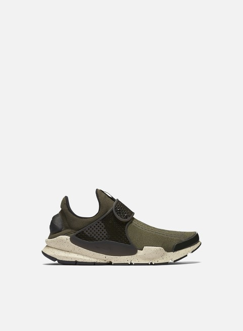 sneakers nike sock dart cargo khaki black rattan