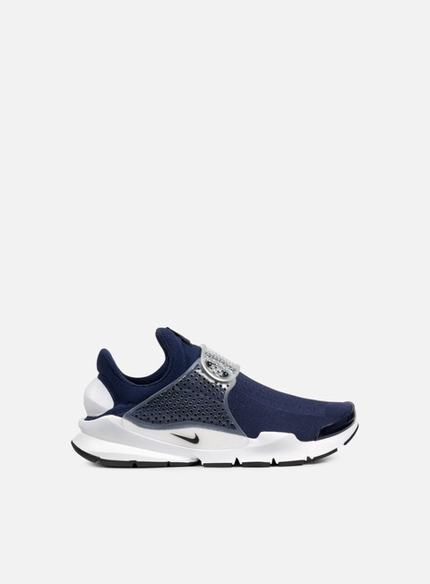 sneakers nike sock dart kjcrd midnight navy medium grey white