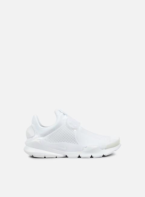 sneakers nike sock dart kjcrd white white white