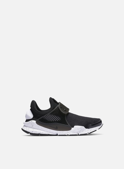 sneakers nike sock dart se black black white