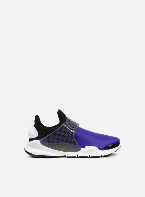 sneakers nike sock dart se paramount blue electro lime