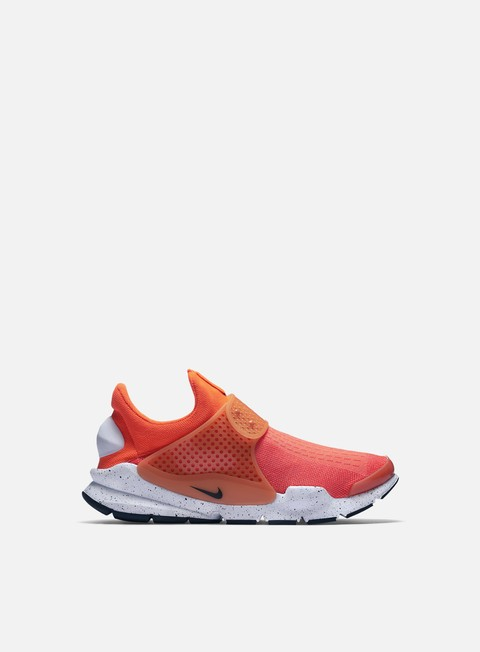 sneakers nike sock dart se total crimson black white