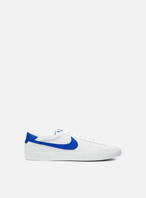 sneakers nike tennis classic ac white racer blue loyal blue