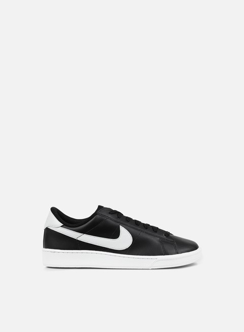 sneakers nike tennis classic cs black pure platinum