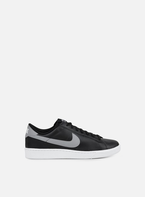 sneakers nike tennis classic cs black stealth white