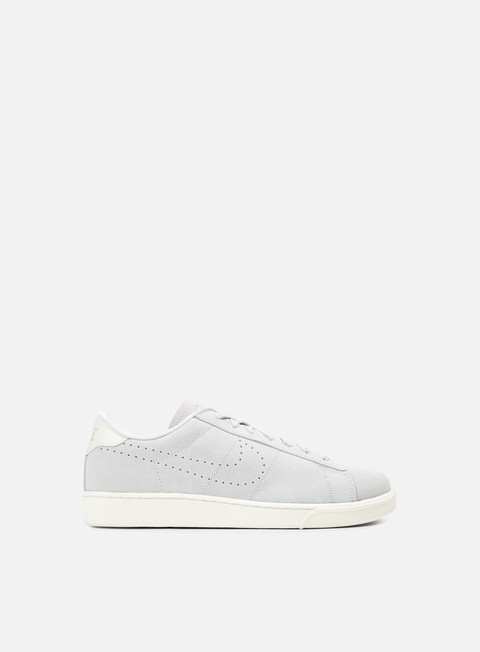 sneakers nike tennis classic cs suede metallic platinum metallic platinum ivory