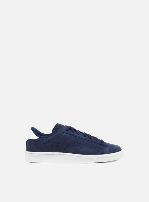 sneakers nike tennis classic cs suede midnight navy midnight navy white