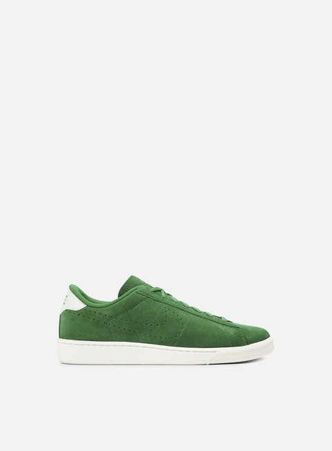 sneakers nike tennis classic cs suede pine green pine green ivory