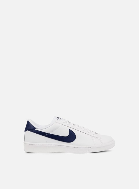 sneakers nike tennis classic cs white midnight navy