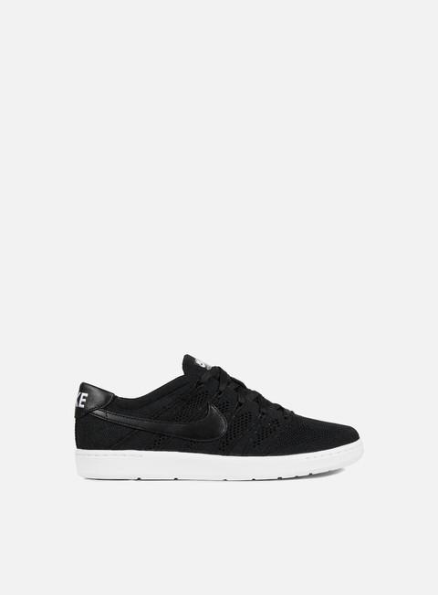 sneakers nike tennis classic ultra flyknit black black white
