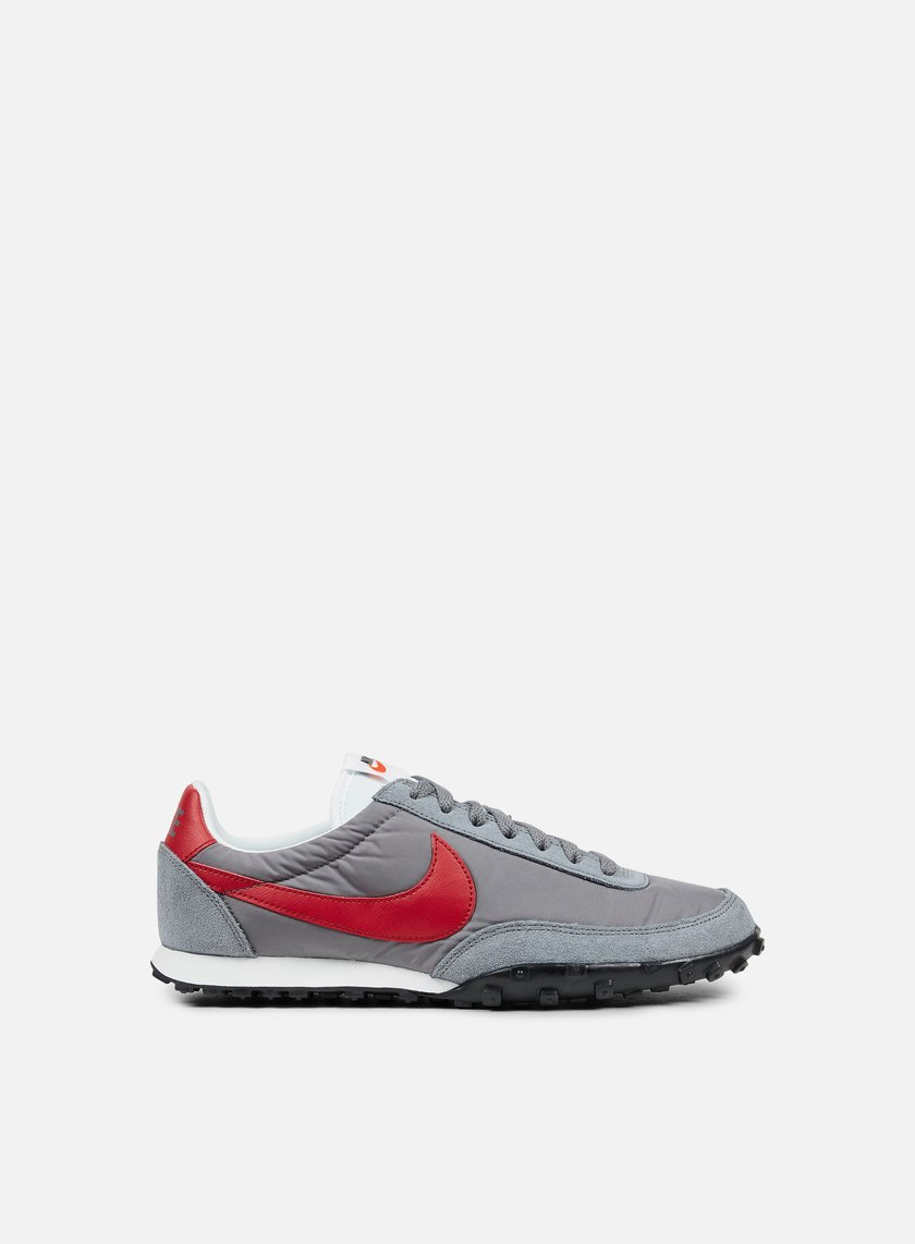 Nike - Waffle Racer 17, Cool Grey/Gym Red/Summit White